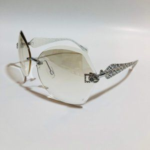 Accessories - DG Cat-Eye Candy Rimless Sunglasses - UV400